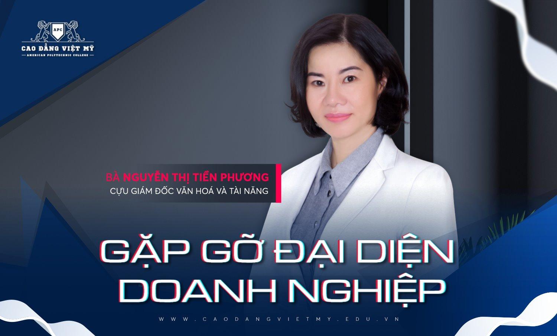 Bà Nguyễn Thị Tiền Phương, Cựu Giám đốc Văn hoá và Tài năng tại Movenpick Resort Waverly Phu Quoc - Ảnh: Cao đẳng Việt Mỹ