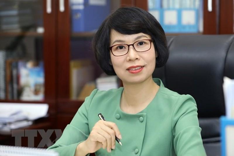Bà Vũ Việt Trang - Tổng giám đốc TTXVN (Ảnh: TTXVN)
