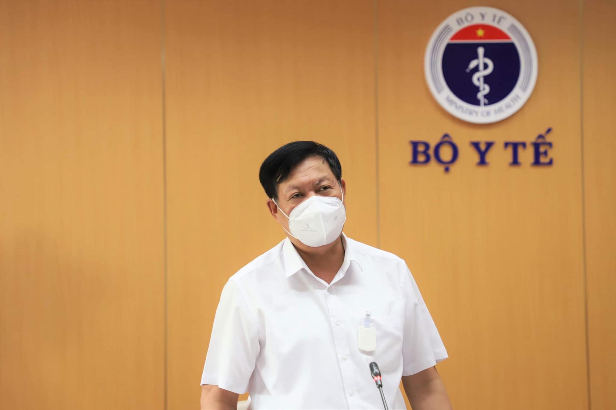 Thứ trưởng Bộ Y tế đề nghị các tỉnh miền Tây Nam Bộ phải phấn đấu giảm số ca mắc trong 7 ngày tới