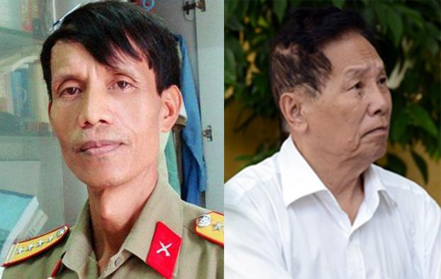 Nhà văn Nguyễn Quốc Trung (trái) và nhà văn Lê Thành Chơn qua đời vào ngày 10/9.