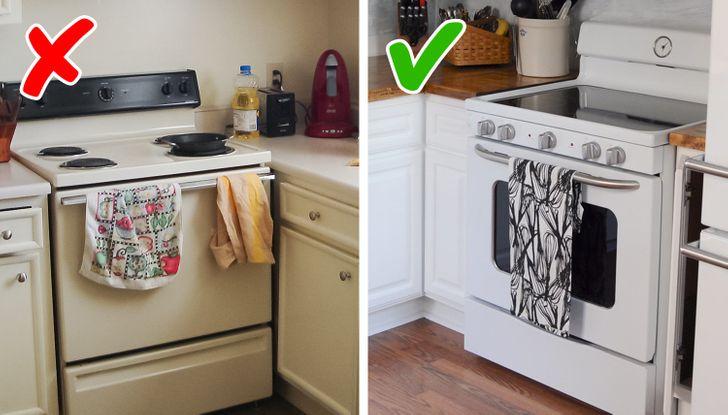 Khăn lau bếp là vật dụng cần thiết đối với bất kỳ ai dành thời gian vào bếp. Chúng tôi sử dụng chúng thường xuyên và hầu như không nhận thấy nó. Đó là lý do tại sao chúng ta nên ghi nhớ rằng vật dụng này là một phần quan trọng của nội thất. Khi chọn vải dệt cho nhà bếp, tốt hơn hết bạn nên  chọn các màu trung tính và tự nhiên. Bạn sẽ có thể cung cấp cho căn phòng của mình một cái nhìn phong cách và hấp dẫn với sự giúp đỡ của trang trí này, chưa kể đến thực tế là nó sẽ làm cho nhà bếp trông đắt tiền hơn.