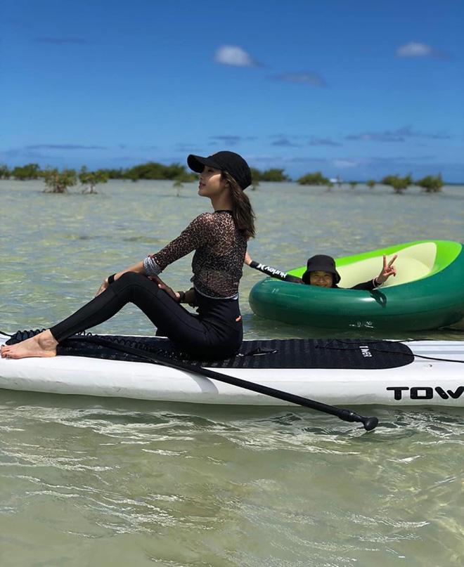 Nữ idol yêu thích chèo thuyền vào thời gian rảnh.