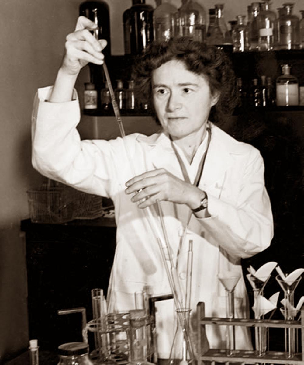 Bà Gerty Cori là nhà khoa học nữ tạo nên niềm cảm hứng vươn lên cho thế hệ phụ nữ trẻ ngày nay - ẢNH: PETRA SLABA