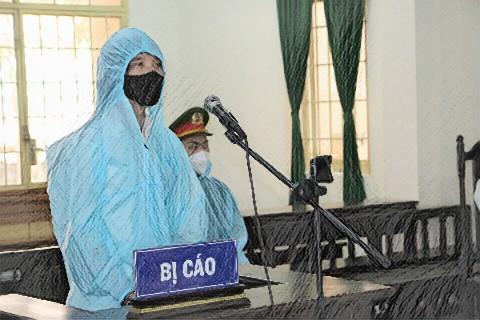 Bị cáo Suốt tại phiên tòa - Ảnh: Kim Uyên