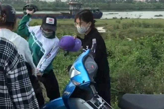 Hiện trường vụ nữ sinh Ninh Bình đánh nhau