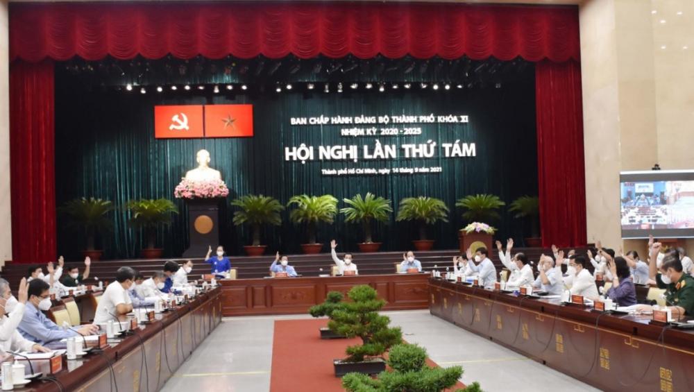 Hội nghị Ban Chấp hành Đảng bộ TPHCM lần VIII mở rộng (nhiệm kỳ 2020 - 2025) quyết nhiều vấn đề quan trọng của TPHCM trong thời gian tới.