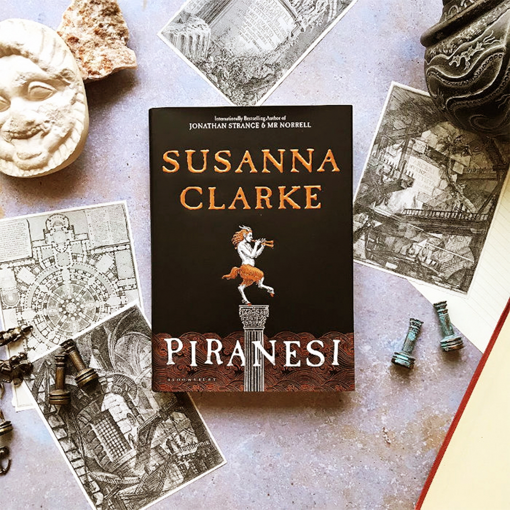 Tiểu thuyết kỳ ảo Piranesi - ẢNH: READINGLIST