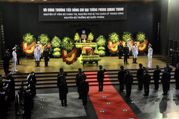 Lễ tang Đại tướng Phùng Quang Thanh, nguyên Ủy viên Bộ Chính trị, nguyên Phó bí thư Quân ủy Trung ương, nguyên Bộ trưởng Bộ Quốc phòng