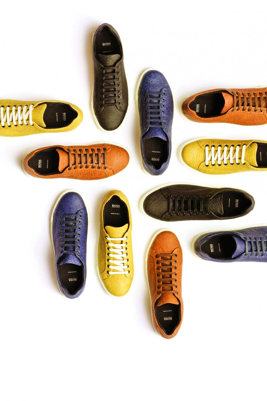 Các mẫu giày tây dành cho nam của Hugo Boss sản xuất từ phế phẩm lá dứa được bán với giá từ 350 - 500 USD