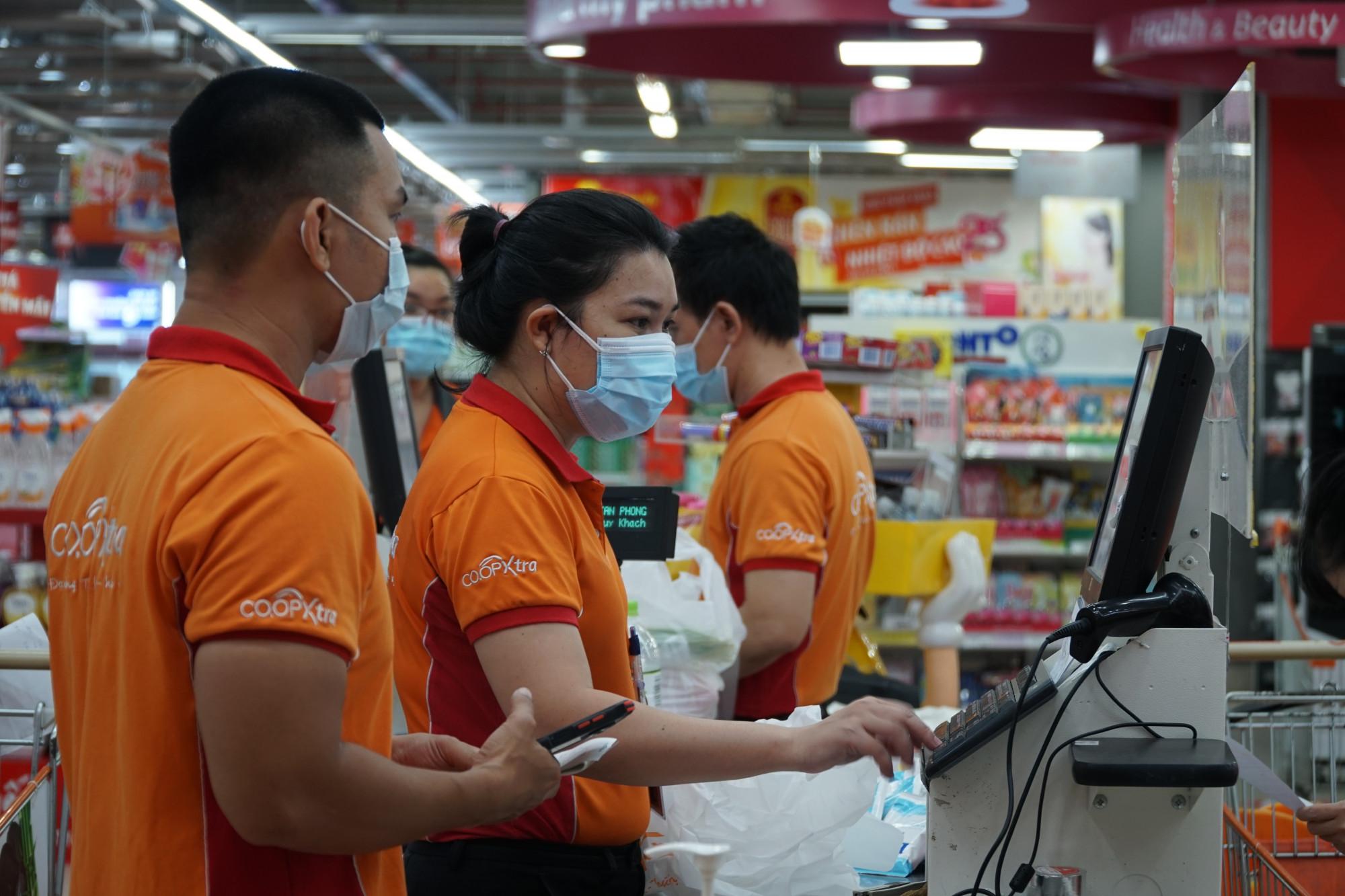 Tại Co.op Xtra Tân Phong, mọi thứ đã sẵn sáng để phục vụ người dân