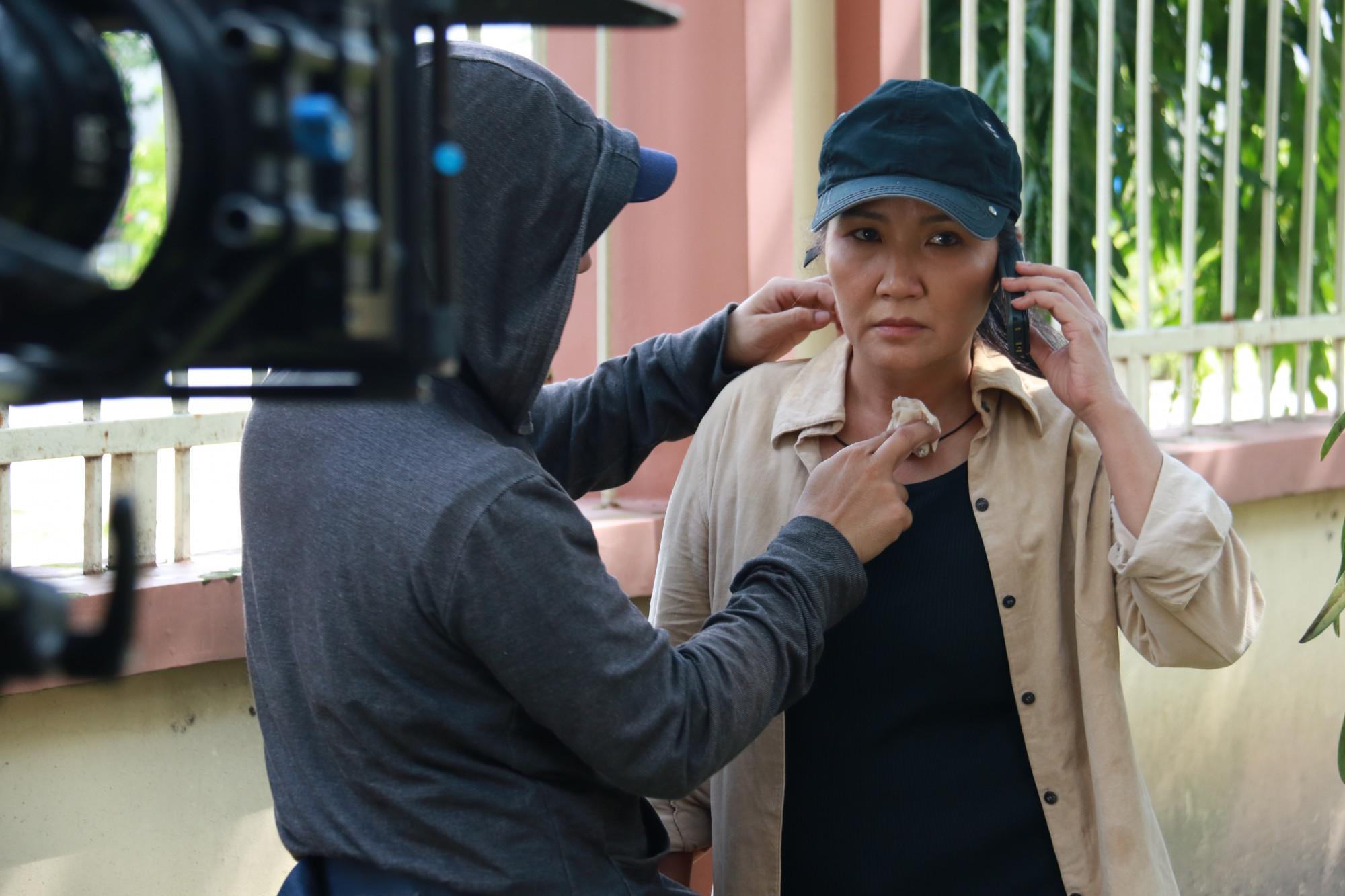 Bà Cẩm là một nhân vật rất khác so với các vai diễn trước đây của nghệ sĩ Ngân Quỳnh