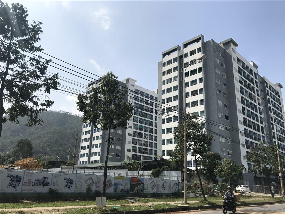 Chung cư nhà ở xã hội thuộc dự án Khu đô thị Xanh Bàu Tràm Lakeside