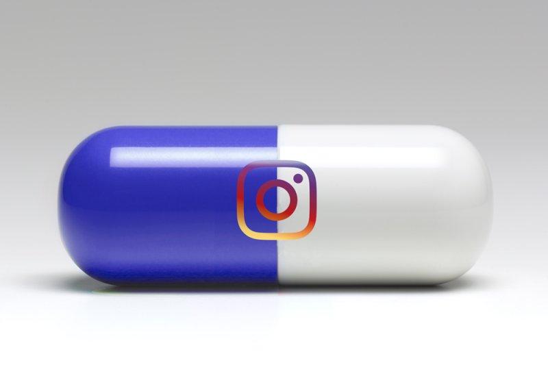"""Ảnh minh họa của """"viên thuốc"""" Instagram - Ảnh: Time/Getty Images"""