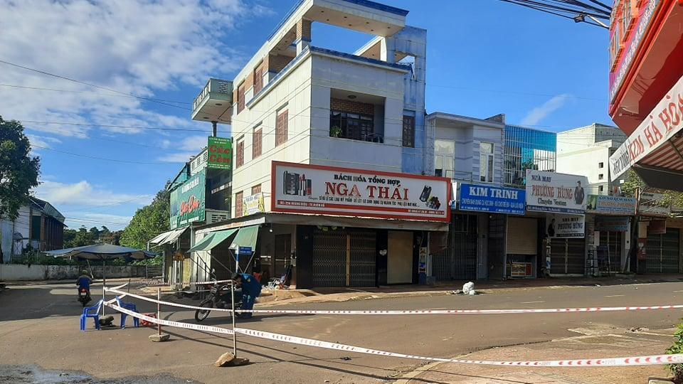 Thị xã Buôn Hồ vừa ghi nhận một ổ dịch cộng đồng tại vựa sầu riêng Lan Tươi