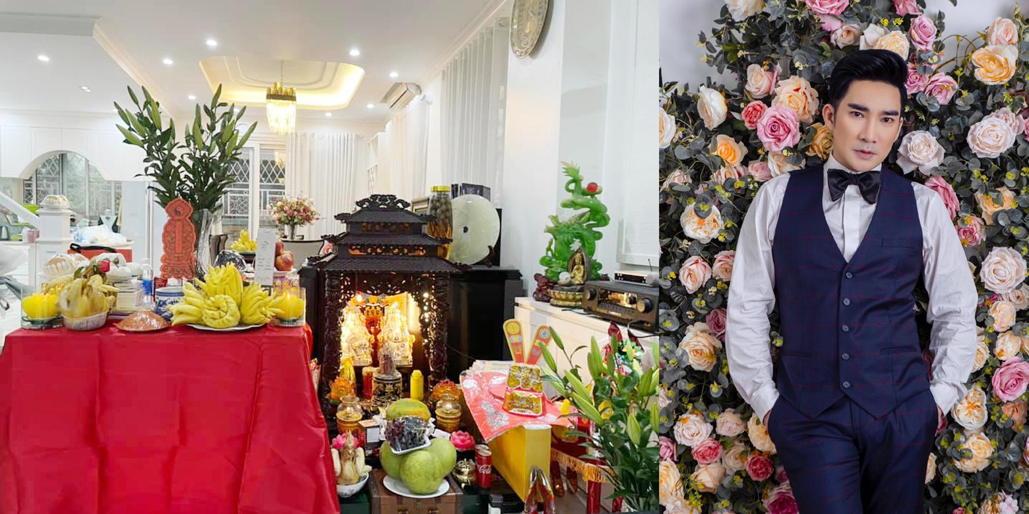 Ca sĩ Quang Hà nói thường năm nhân dịp giỗ Tổ nghề anh thường dành 2 ngày