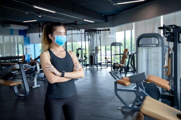 """Đeo khẩu trang và tuân thủ """"5K"""" cũng là một trong những tiêu chí bắt buộc trong các hoạt động tập luyện thể dục thể thao"""