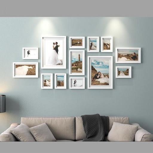 Album ảnh rất tuyệt, nhưng một số bức ảnh phải được xem liên tục. Những bức ảnh có thể trở thành một sự bổ sung tuyệt vời cho thiết kế nội thất của bạn nếu bạn sắp xếp chúng một cách hợp lý. Đây và đây là những ví dụ về sự sắp xếp như vậy.