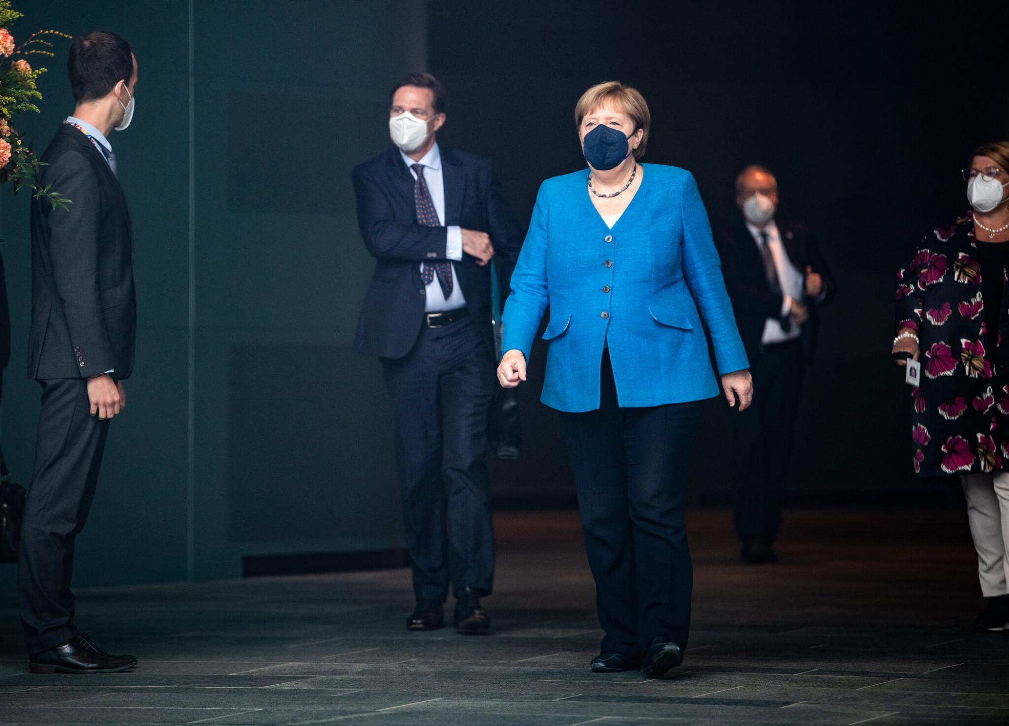 Bà Angela Merkel sẽ dừng vai trò Thủ tướng Đức sau 16 năm phục vụ - Ảnh: Jutrczenka/Picture Alliance/Getty Images