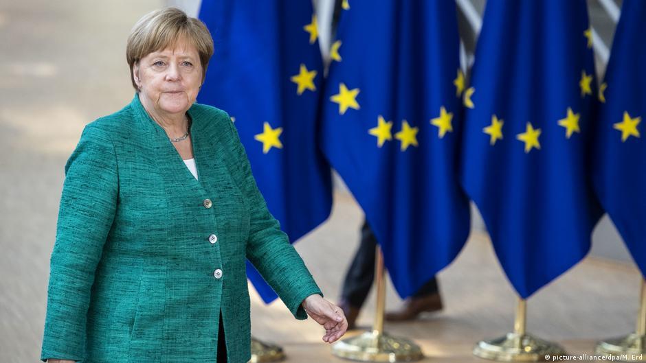 Thủ tướng Angela Merkel đã lãnh đạo châu Âu thoát khỏi cơn bão nợ công - Ảnh: DPA