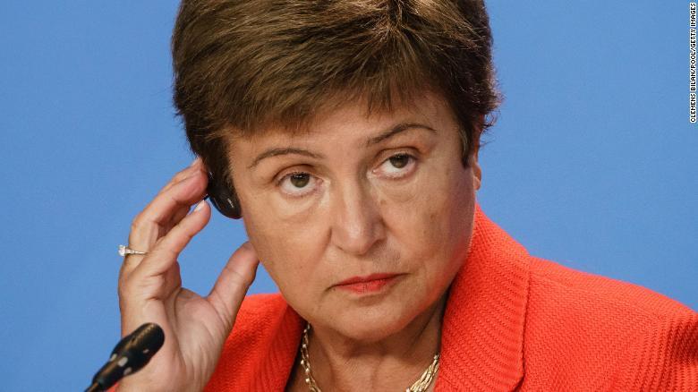 Bà Kristalina Georgieva - Giám đốc điều hành của Quỹ Tiền tệ quốc tế