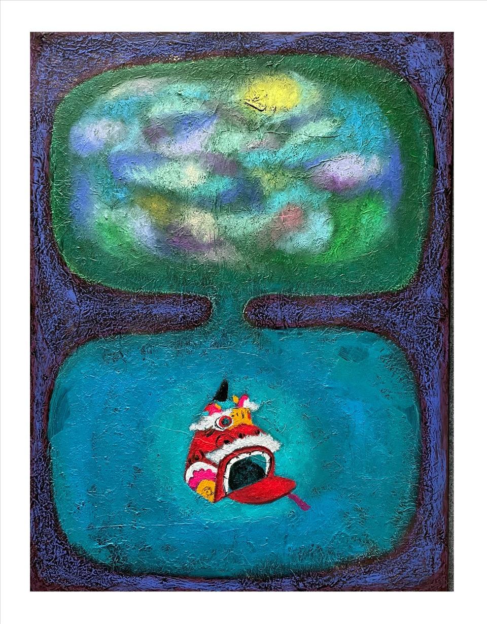 Tranh của họa sĩ Nguyễn Minh Hiếu