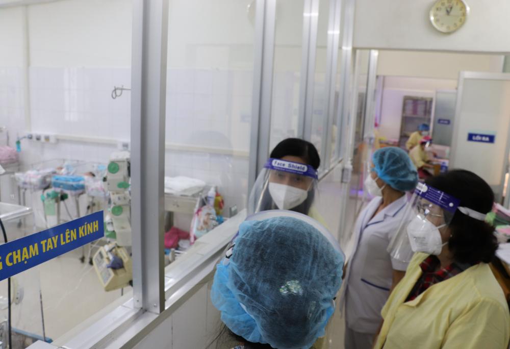 Hiện bệnh viện đang chăm lo đầy đủ cho các bé.