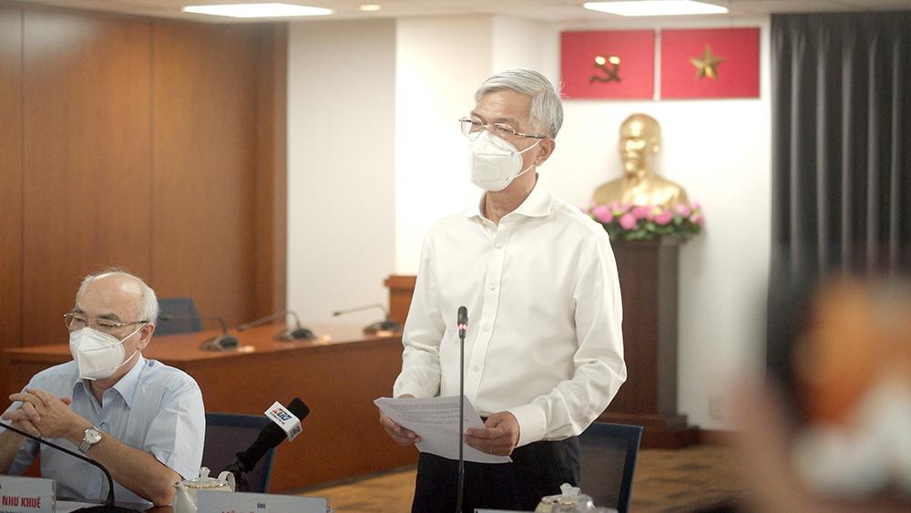 ông Võ Văn Hoan – Phó Chủ tịch UBND TPHCM khẳng định gói hỗ trợ đợt 3 sẽ làm hết sức chặt chẽ