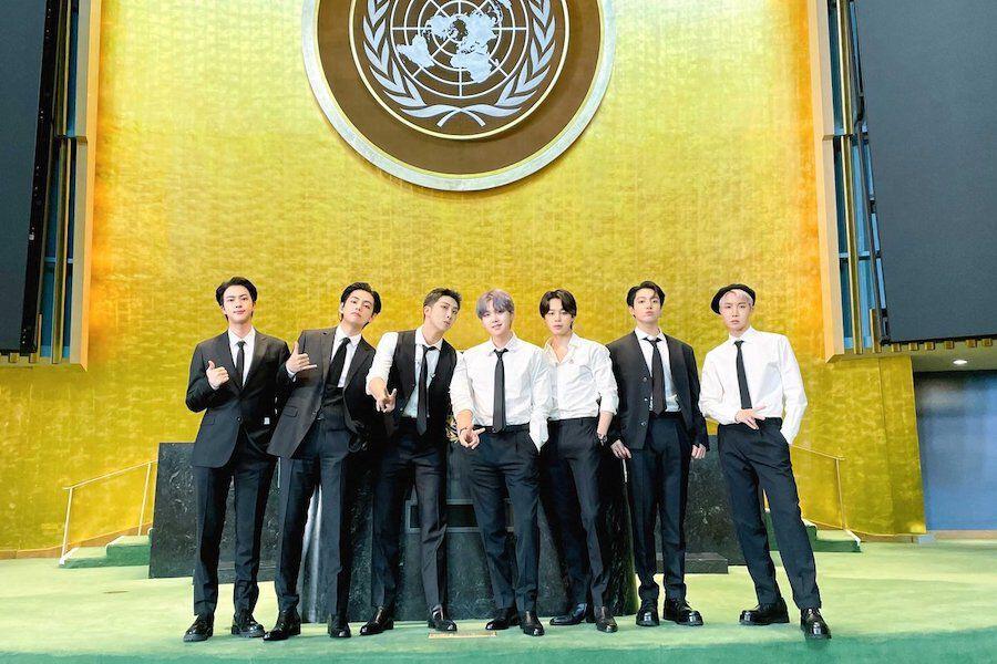 BTS truyền thông điệp hy vọng trong bài phát biểu tại Liên Hợp Quốc