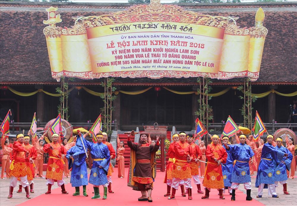Lễ hội Lam Kinh 2021 không tổ chức phần hội