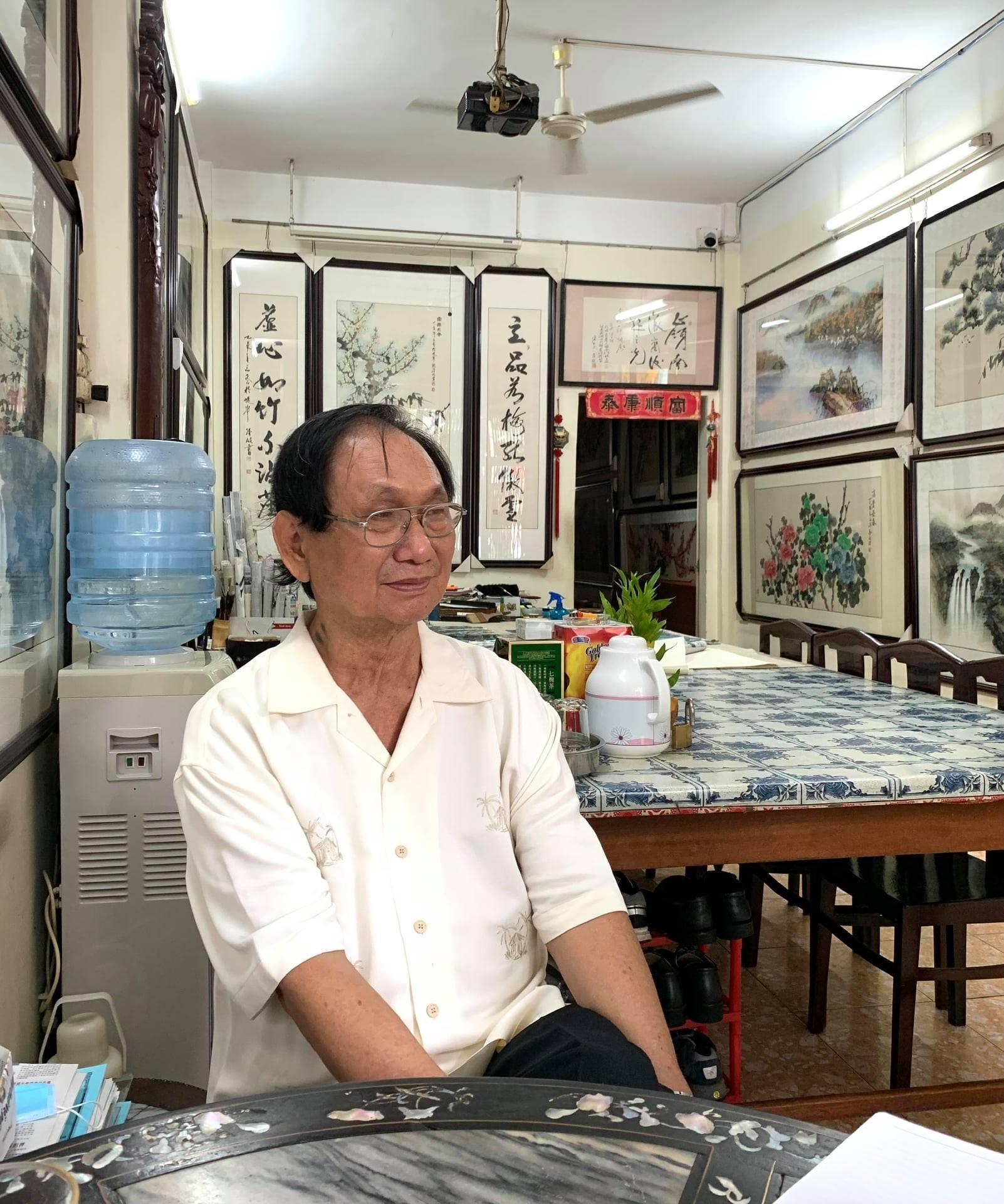 Hoạ sĩ Trương Hán Minh là thầy của nhiều học trò