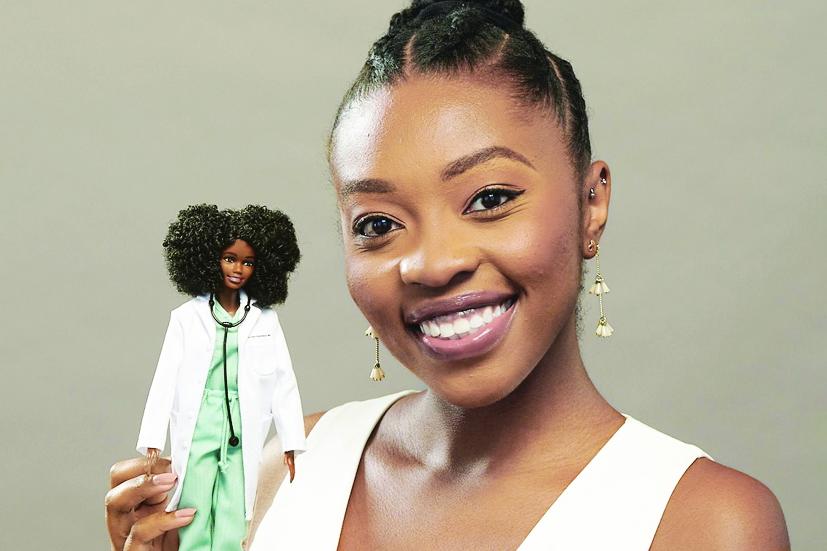 Bác sĩ Chika Stacy Oriuwa mong câu chuyện của cô sẽ tạo cảm hứng cho những cô gái da màu theo đuổi ước mơ trên mọi lĩnh vực  - ẢNH: Mattel