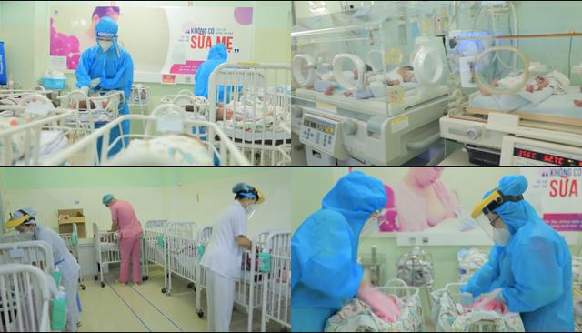 Khu chăm sóc đặc biệt dành cho các em bé có mẹ bị nhiễm COVID-19