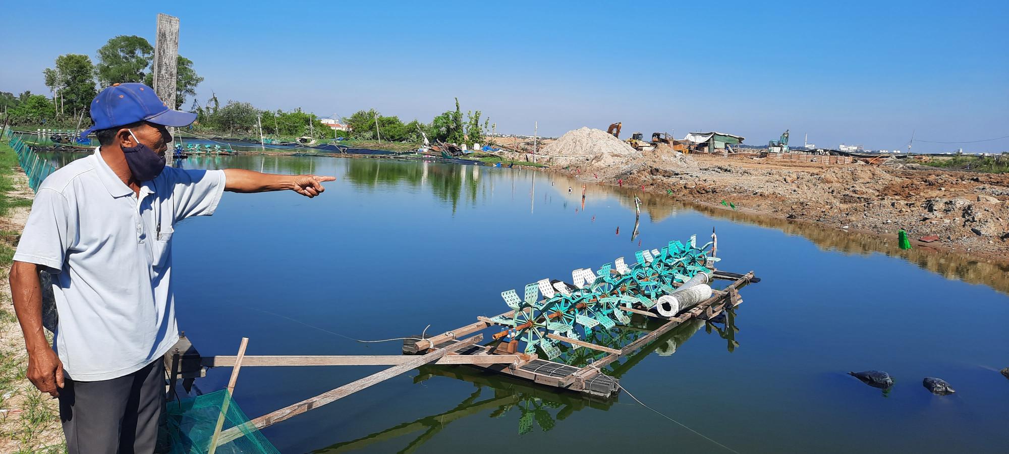Ông Nguyễn Lữ cho biết, đã 28 năm nay nhưng UBND huyện Núi Thành vẫn chưa cấp sổ đỏ cho diện tích đã bán thông qua hình thức đấu giá cho những hộ dân nơi đây