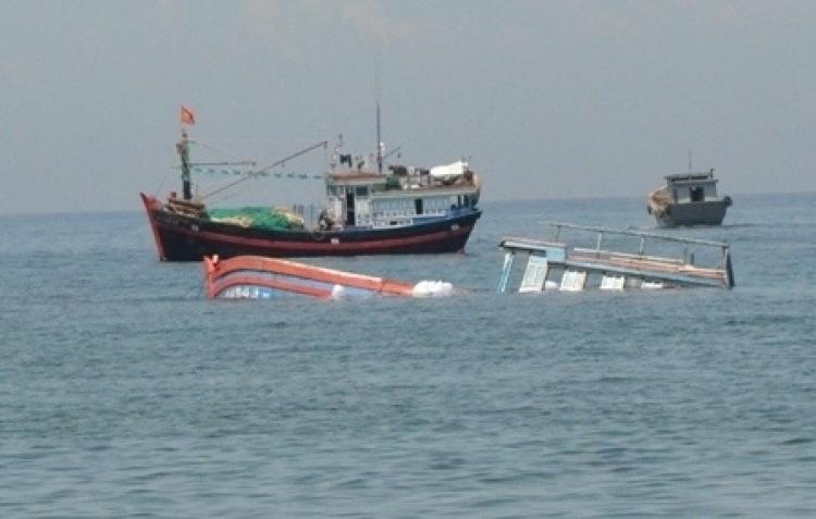 Tàu hàng va chạm tàu cá, 2 ngư dân mất tích (Ảnh minh họa)