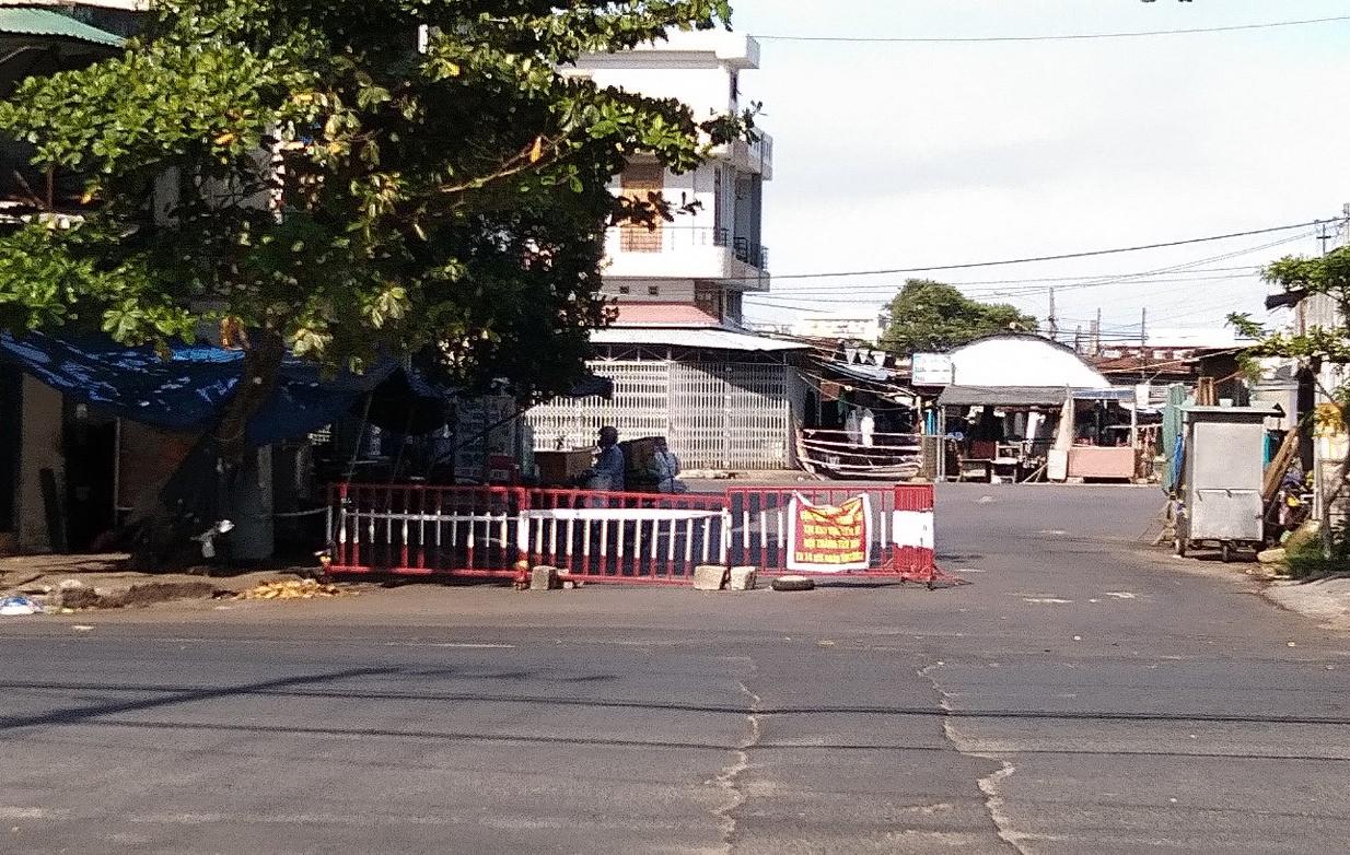 Bến xe TP Tuy Hòa bị phong tỏa
