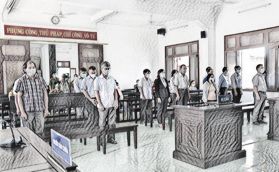 18 bị cáo trong vụ án