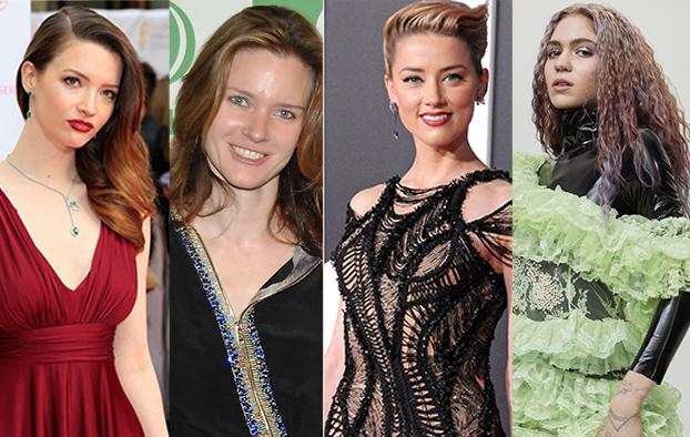 4 người phụ nữ từng được Elon Musk công khai tình cảm gồm: diễn viên