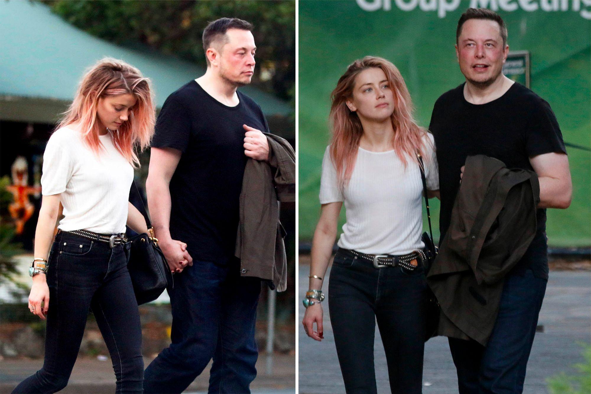 Elon Musk từng rất buồn vì diễn viên Amber Heard nói lời chia tay.