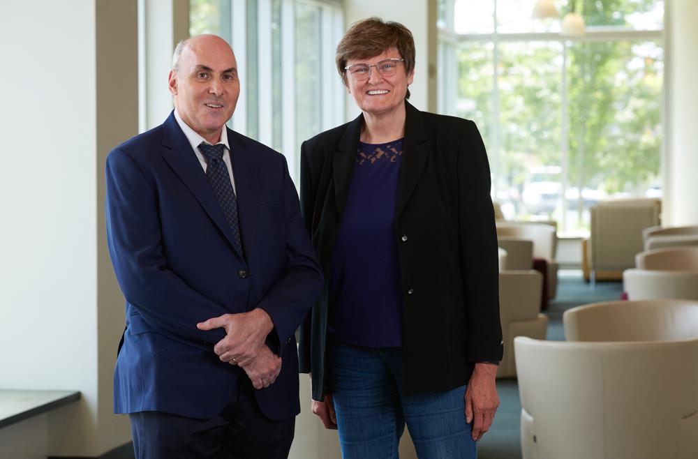 Tiến sĩ Drew Weissman and Katalin Karikó - Ảnh: Penn Medicine