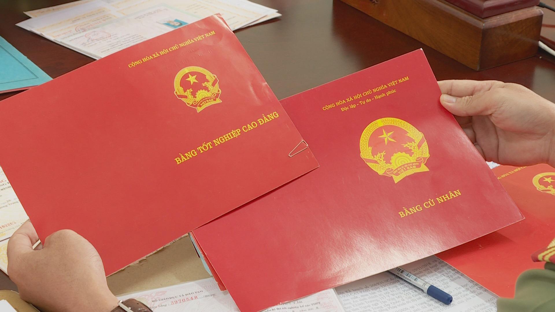 Cơ quan chức năng tỉnh Đắk Lắk vừa phát hiện 20 trường hợp sử dụng bằng giả, bằng không hợp lệ