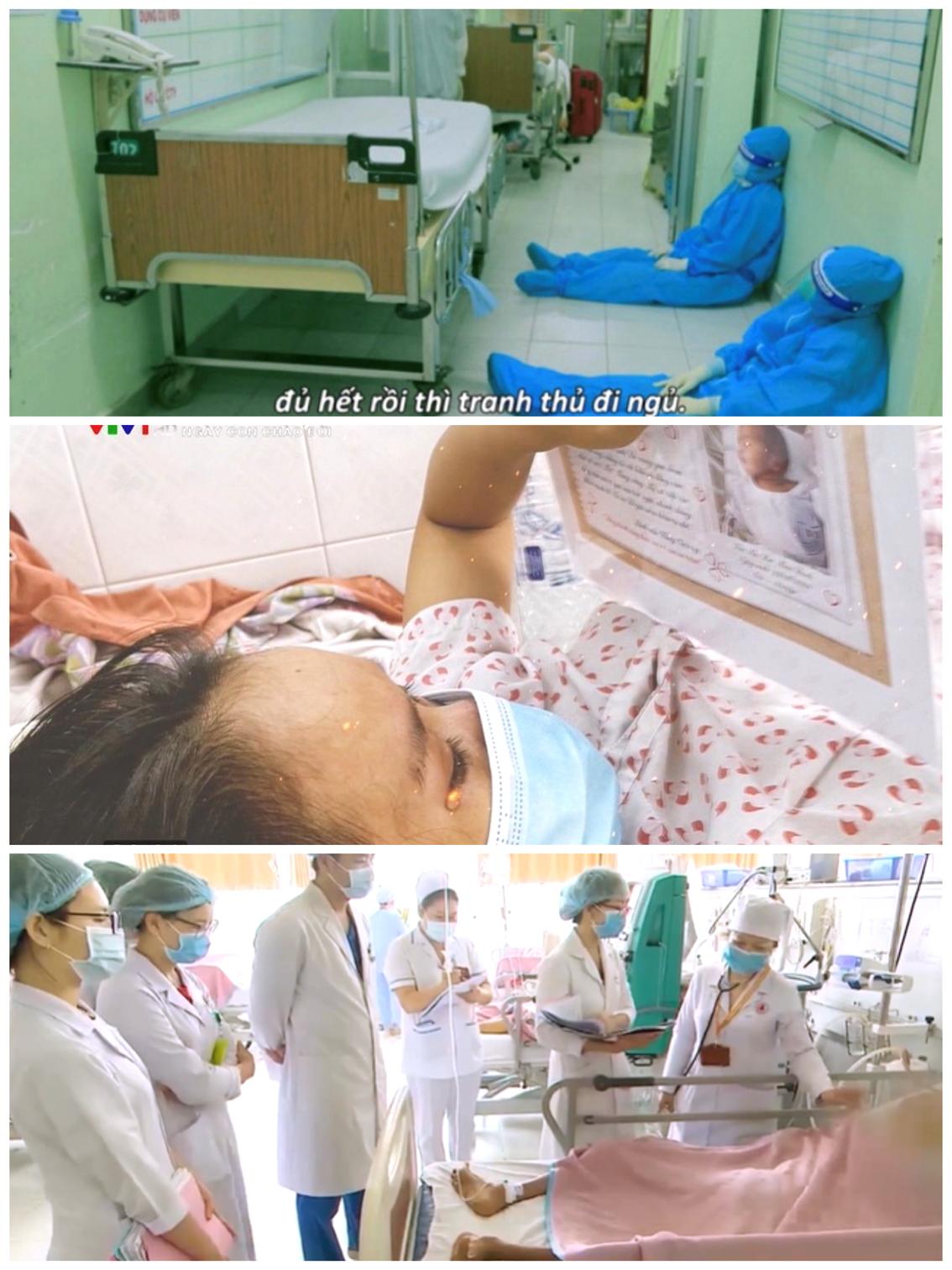 Một số hình ảnh gây xúc động trong phim tài liệu Ngày con chào đời phát sóng trên VTV