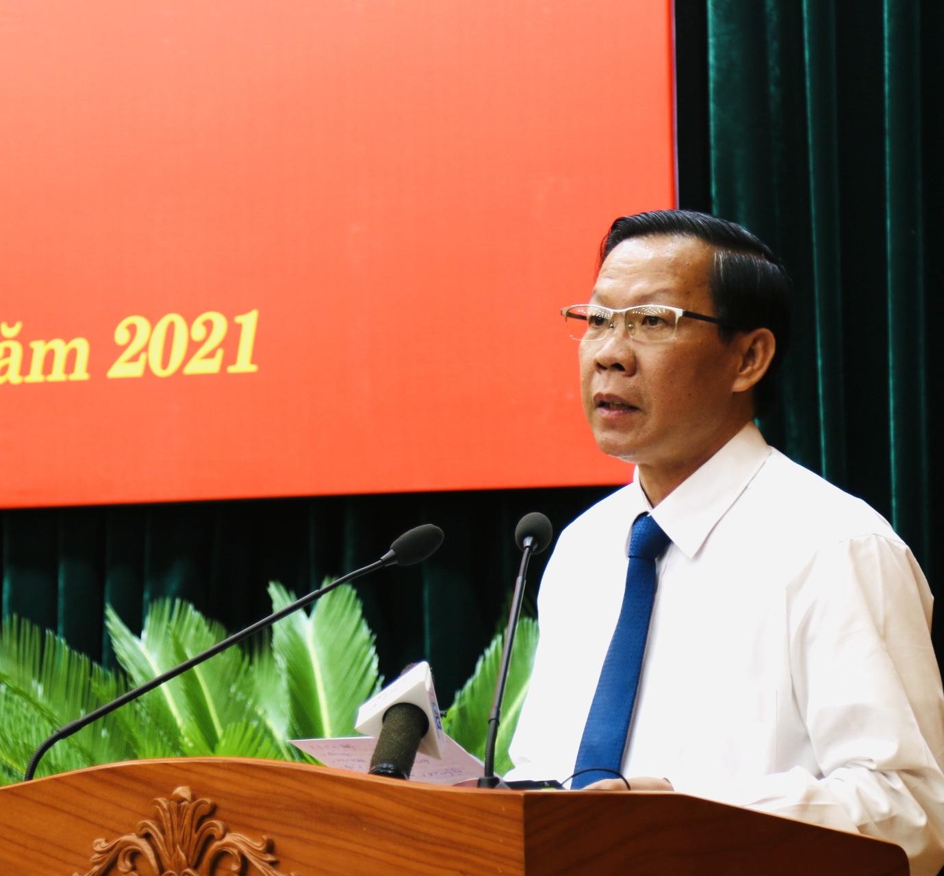 Chủ tịch UBND TPHCM Phan Văn Mãi