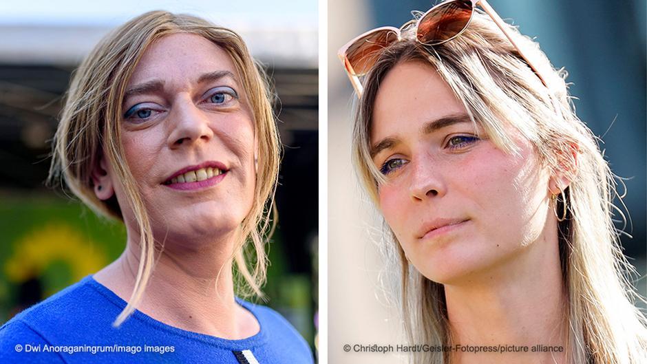 Cô Tessa Ganserer và Nyke Slawik là 2 người phụ nữ chuyển giới đầu tiên được đặt chân vào Quốc hội Đức - Ảnh: