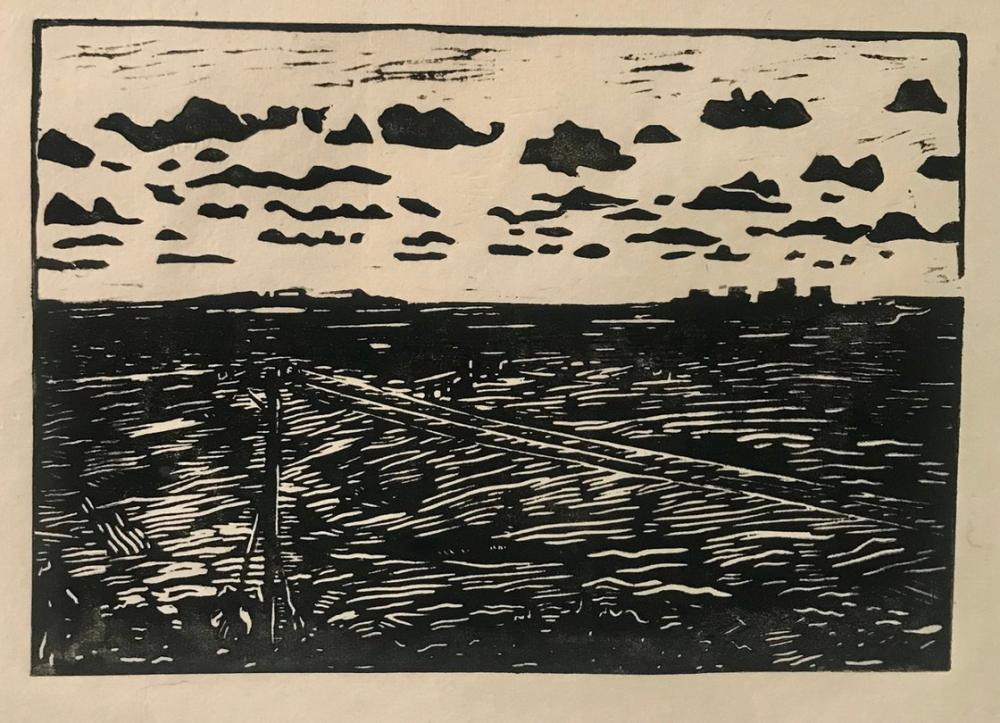 Tác phẩm lấy cảm hứng từ ngọn đồi nhìn ra biển ở Vũng Tàu