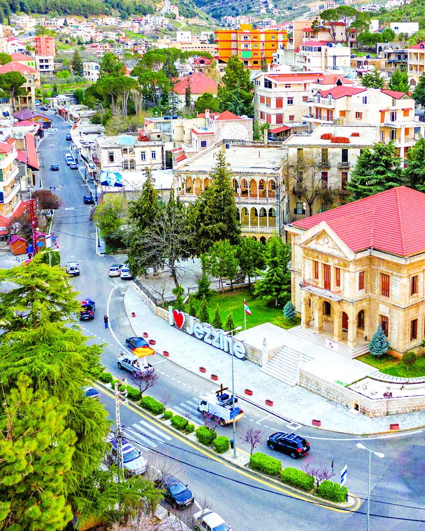 Vẻ đẹp của thành phố Jezzine