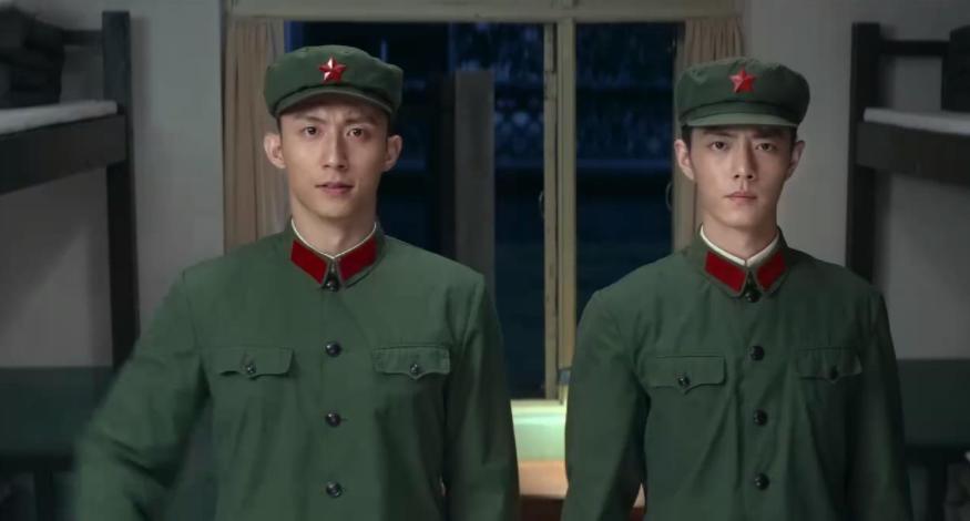 Hoàng Cảnh Du và Tiêu Chiến trong phim