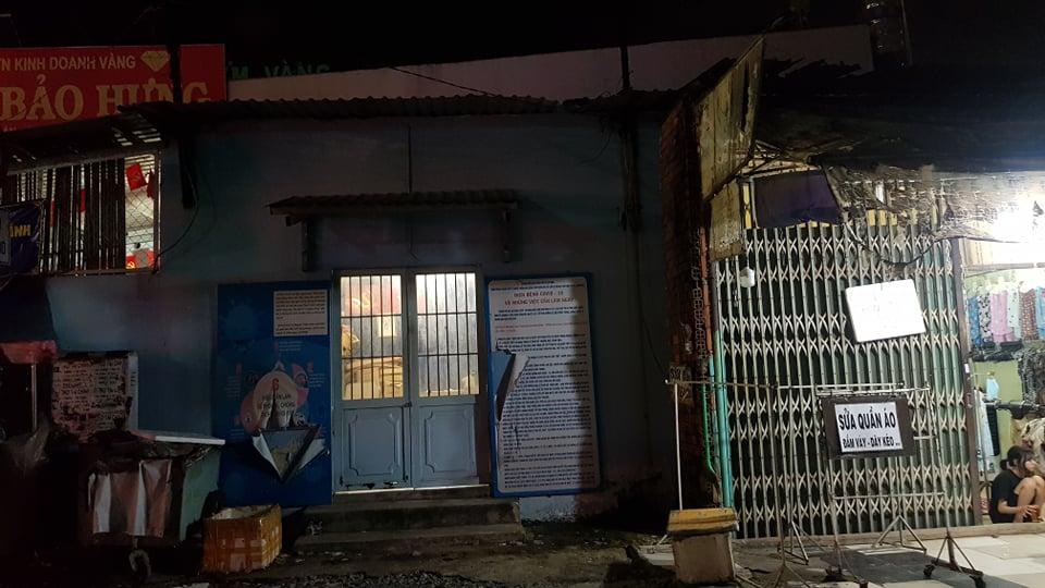 Trụ sở khu phố 2, phường Bình Hưng Hoà B, quận Bình Tân, TPHCM