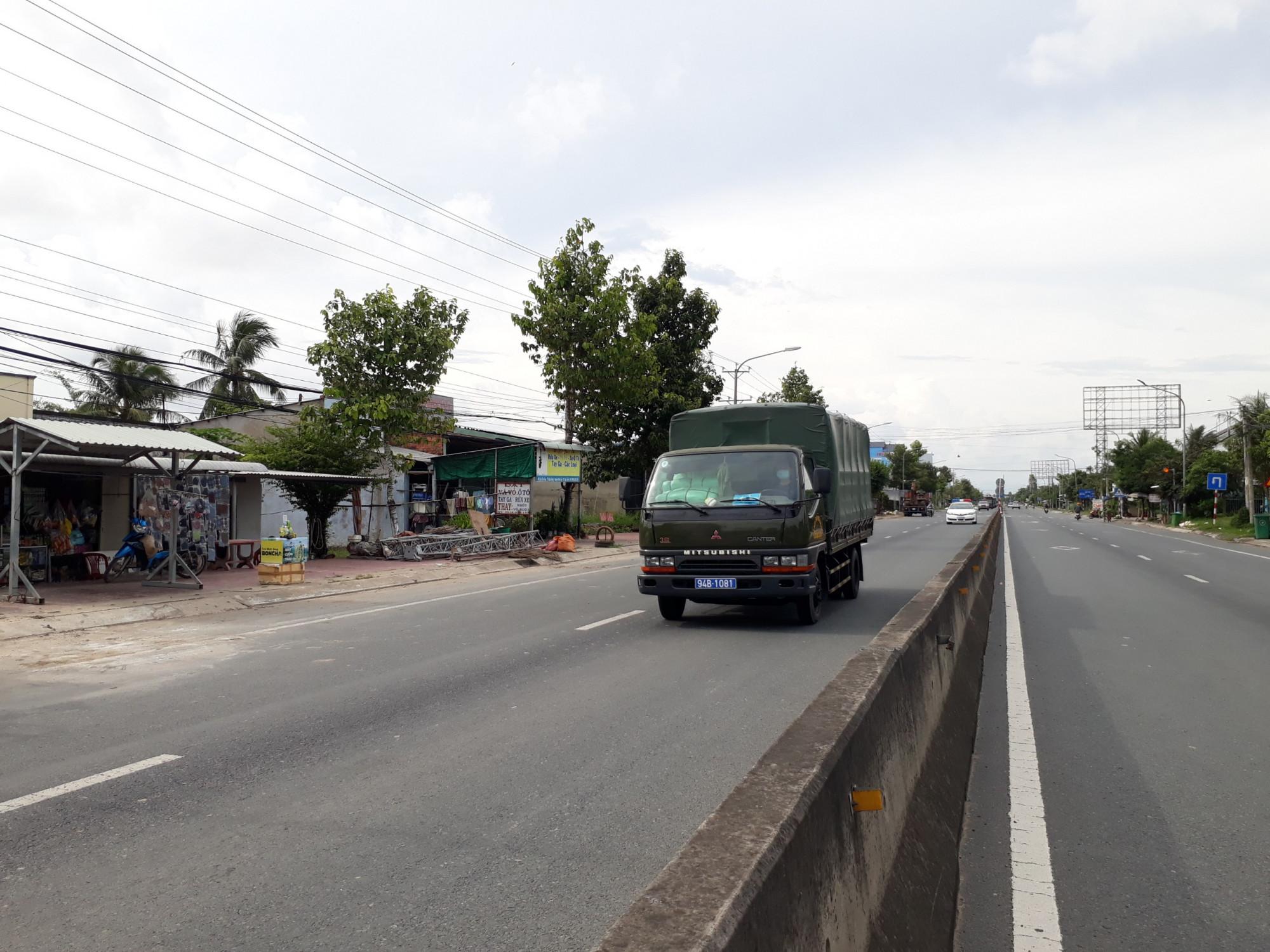 112 công dân Bạc Liêu bị kẹt ở Long An đã được đưa về địa phương. Ảnh: CTV.