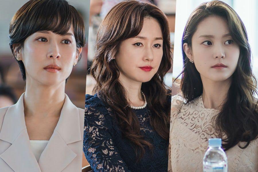 Cuộc chiến gay cấn giữa Yeo Wool, Ji-sun và Na-yoon trong phim.