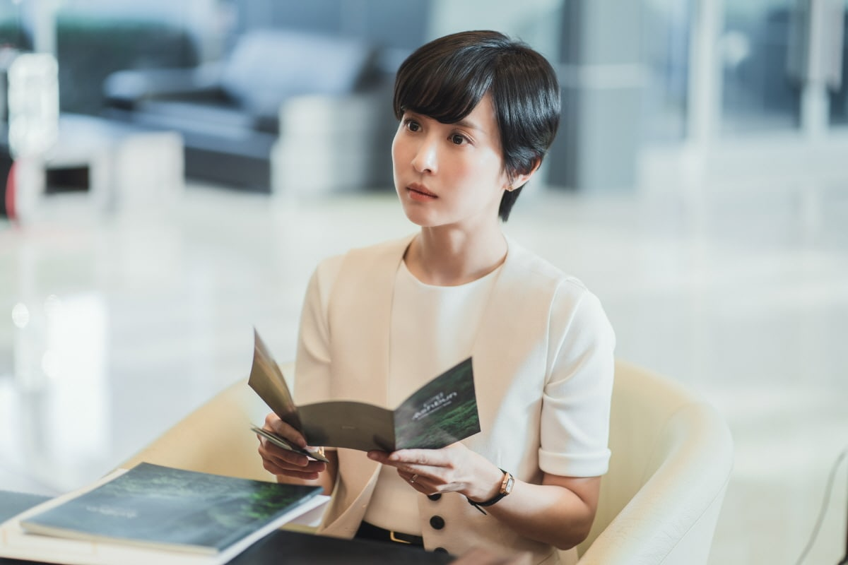 Tạo hình mới lạ của Jo Yeo Jeong trong Đẳng cấp thượng lưu